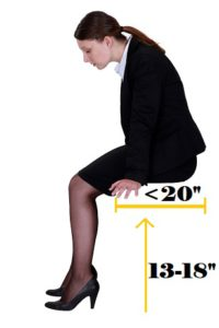 What size office chair for a short person